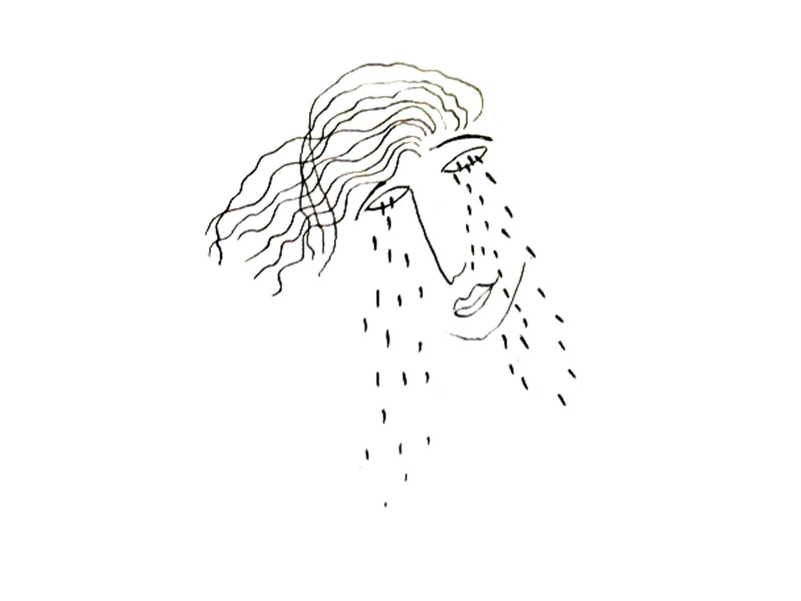 dibujo de F. García Lorca